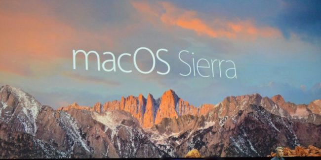 Apple rilascia MacOS Sierra download link e installazione
