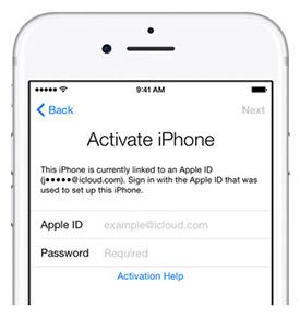 iPhone 7 nuovi e bloccati mostrano un esistente Apple ID