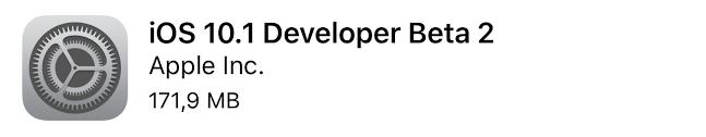 Apple rilascia iOS 10.1 beta 2 ecco i link download e novità