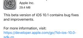 Apple rilascia iOS 10.1 beta 4 ecco i link download e novità