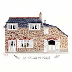 Mélanie Voituriez - Portraits de maisons