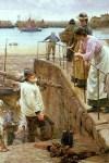 Walter_Langley_-TASMANIA_Between_The_Tides_1901