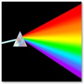 study abroad light, prism and rainbow