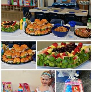 A Cinderella Birthday Party