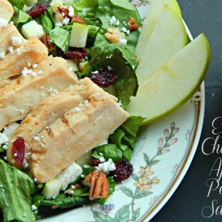 #ad Easy Chicken Apple Pecan Salad