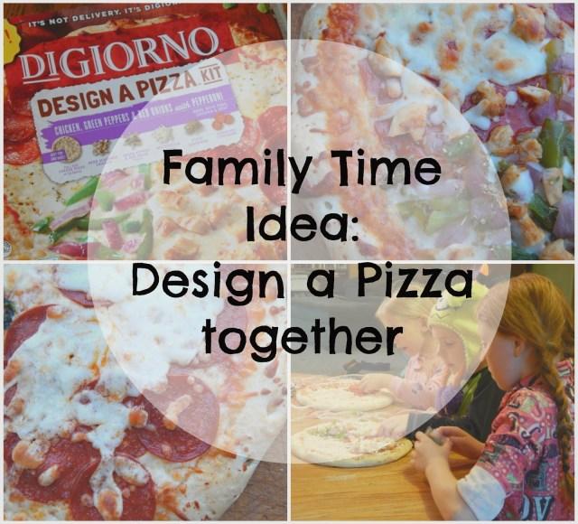 Family Time Idea: #DesignAPizza together! #Digiorno #shop