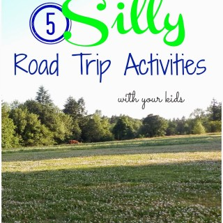 5 Silly Road Trip Activities + Candy Ideas