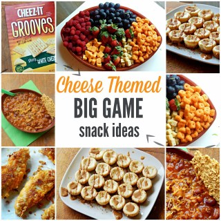 Cheese Themed Big Game Snack Ideas