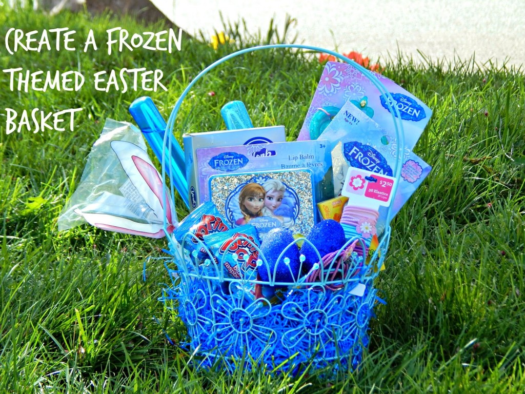 How to create 3 different disneyeaster baskets melissa for Easter tattoos walmart
