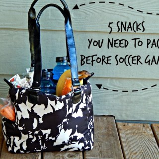 5 Snacks You Need to Pack Before Soccer Games