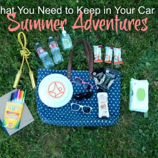 What You Really Need to Keep in Your Car For Summer Adventures