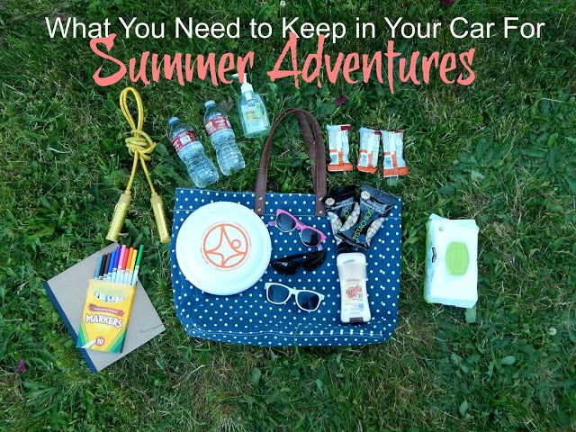 What You Need to Keep in Your Car for Summer Adventures #MomLife #ChevyTranverse #AD