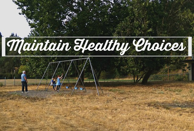 Tips to help maintain healthy choices all year #rewardhealthychoices AD