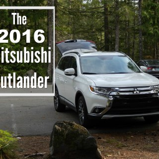 Test Driving The 2016 Mitsubishi Outlander