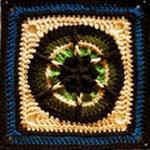 Crochet Banjo Music Square