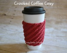 Crochet Gifts for Men - Crooked Coffee Cozy