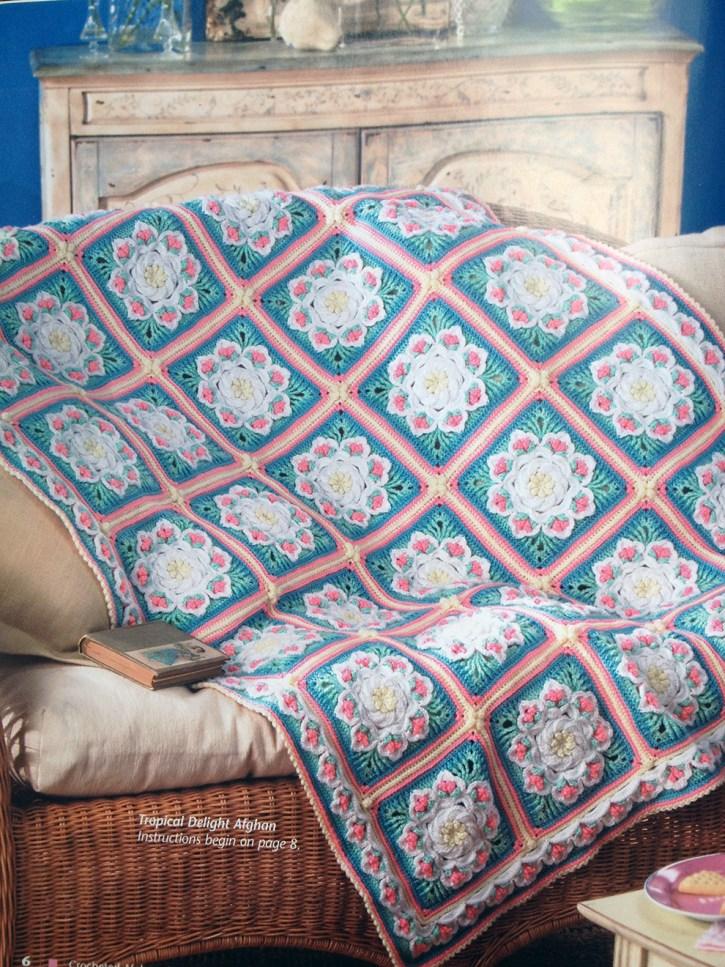 Free Tropical Delight Crochet Pattern