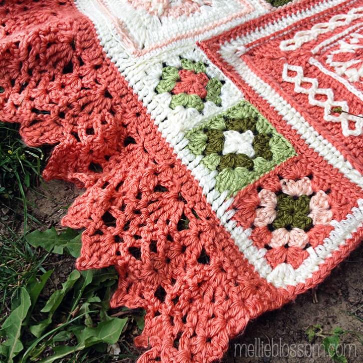 Crochet Along Blanket - border