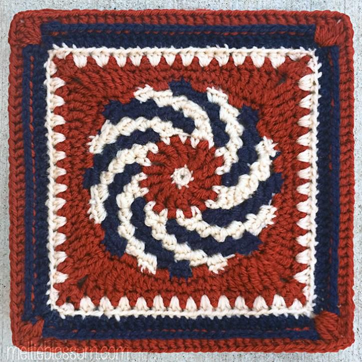 Spring Crochet Squares - mellieblossom.com