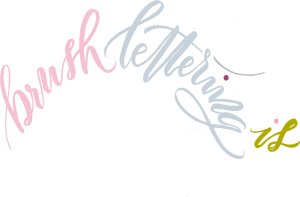 Brush Lettering with Mellor & Rose