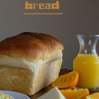 Classic White Bread |Yeasted Bread|