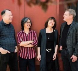 Ron Horton, Satoshi Takeishi, Maryanne de Prophetis, Frank Kimbrough. Photo by Marielle Solan.