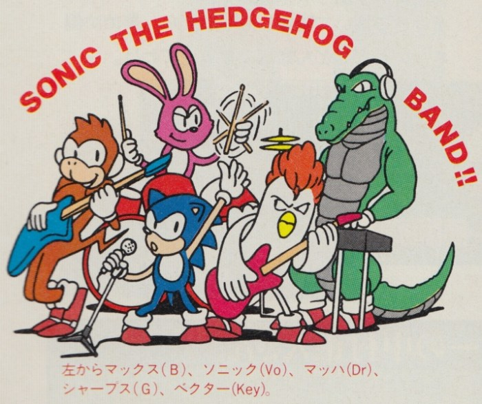sonic band concept