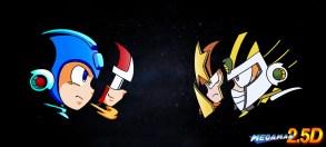Mega Man 25D banner