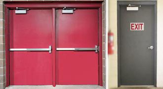 Commercial Steel Doors Brush Seals