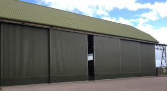 Hanger Door Brush Seals & Aircraft Hangar Door Seals   Memtech Brush