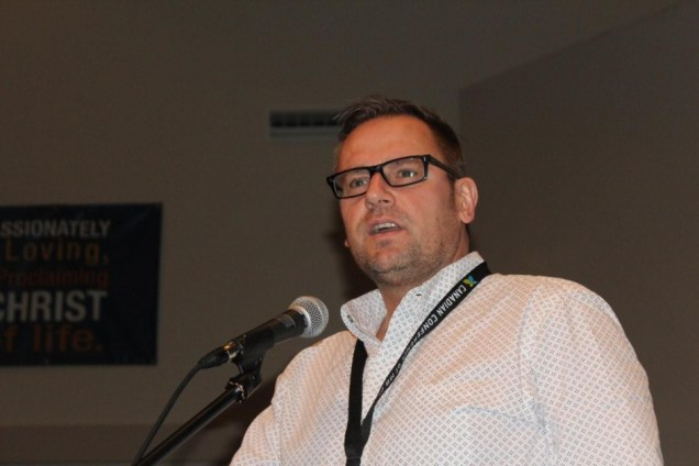 Johnny Thiessen, C2C Network regional director supports church planters in Alberta. Photo by Gladys Terichow