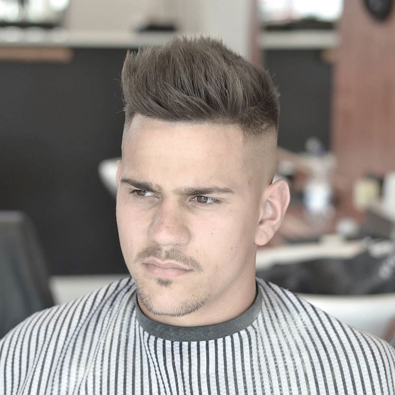 baldysbarbers_and_Love_cutting_this_signature_skull_fade_with_loads_of_texture_through_the_top