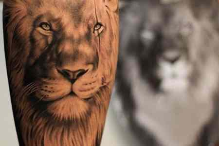 lion tattoos 42
