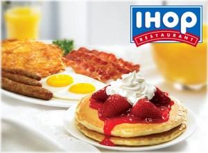 IHOP Menu prices pancakes