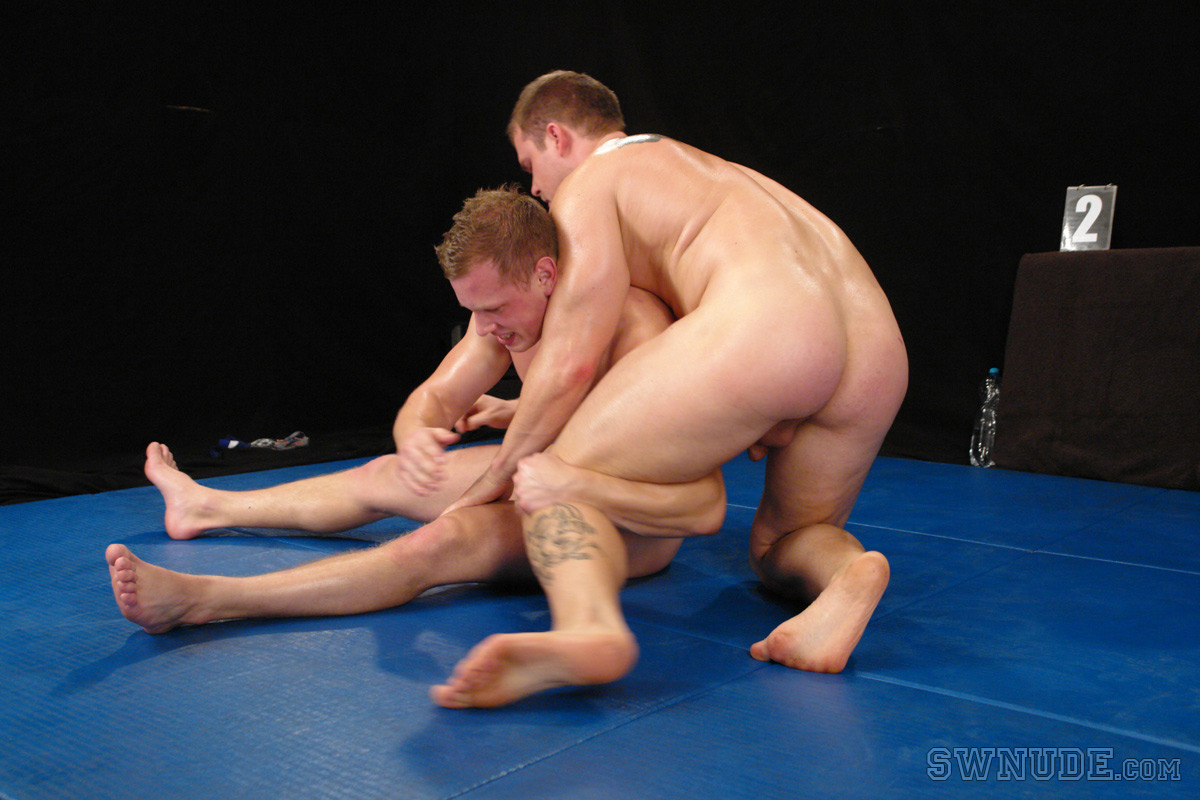 nude men sexual wrestling