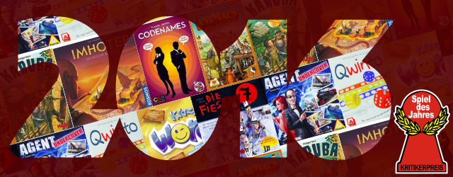 Can you smell it? It's that time of the year again, the time when the Spiel des Jahres nominees are announced. Just like previous years, the jury nominated games in the three categories Kinderspiel (Kid's Game), Spiel and Kennerspiel (Gamer's Game) with three nominations for the award in each category […]