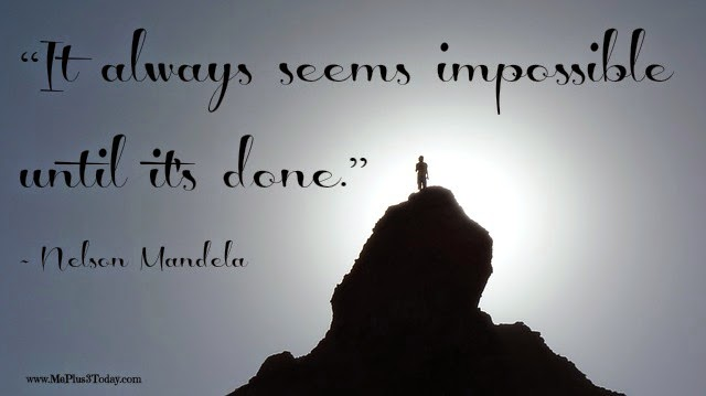 5 Inspirational Quotes Worth Reading Right Now    Make a Difference     It always seems impossible until it s done   Nelson Mandela quote   More  Inspirational Quotes