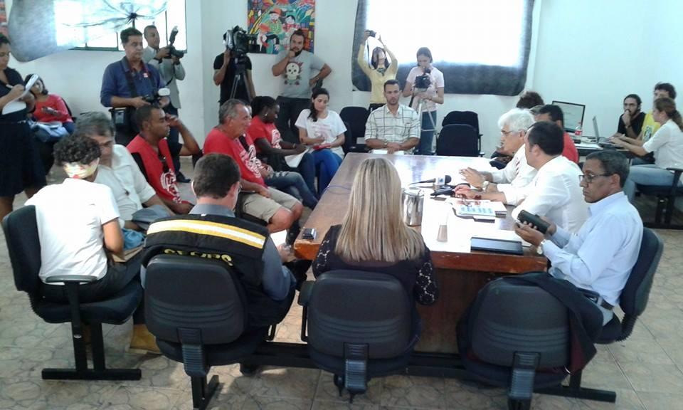 2a reunião de negociação com o GDF.