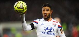 Nabil FEKIR - 11.01.2015 - Lyon / Toulouse - 20eme journee de Ligue 1 Photo : Jean Paul Thomas / Icon Sport