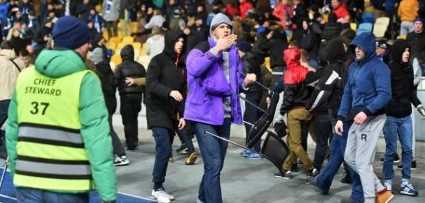 Kiev supporters fans