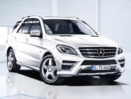 nuova mercedes ml 2012