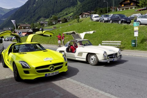 SLS AMG E Cell e 300 SL Gullwing