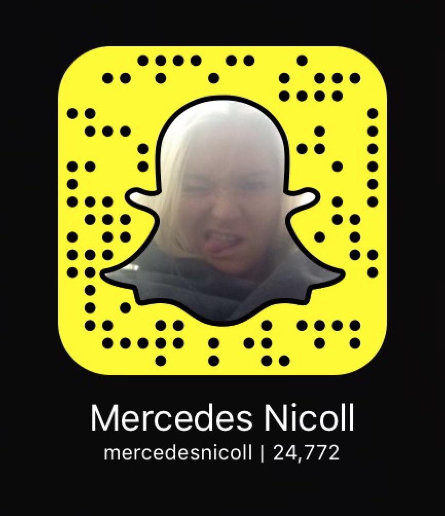 Mercedes Nicoll snapchat