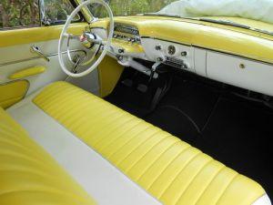 1954 Mercury interior