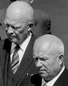 Eisenhower & Khrushchev