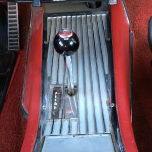 1962 Mercury S-55 console