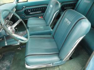 1963 Mercury Monterey S-55 interior