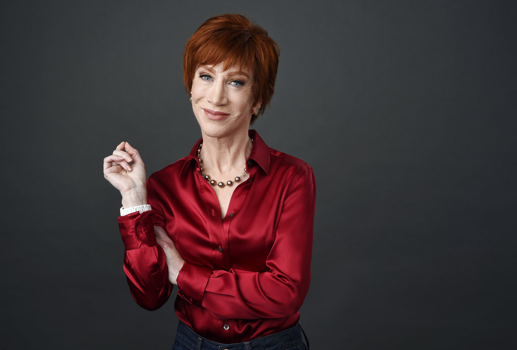 Kathy Griffin rescinds apology over Trump severed head photo In this March 22  2018 photo  comedian Kathy Griffin poses for a portrait  in Los Angeles to promote her upcoming    The Laugh Your Head Off World Tour