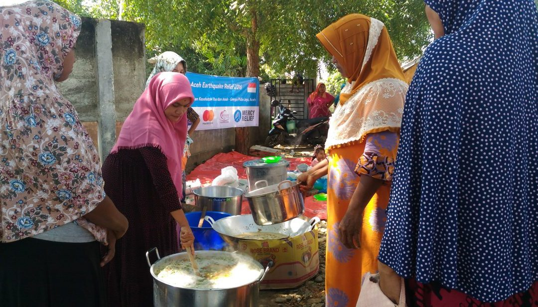 Mercy Relief addresses food and healthcare needs of mothers and children in Aceh