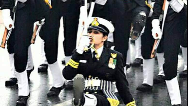 7 women short service commission officers of Indian navy's 2008-09 batch were granted permanent commission.